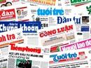 """""""Né"""" báo chí, chủ tịch huyện bị nhắc nhở"""