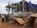 Sập công trình Trung tâm Dịch vụ việc làm tỉnh Đắk Lắk: 8 người bị thương