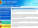Bộ Tư pháp lên tiếng về vụ kiện của ông Trịnh Vĩnh Bình
