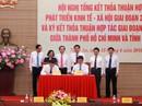 TP HCM và Nghệ An hợp tác đặc biệt