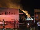 Bà Rịa - Vũng Tàu: Cháy dữ dội ở Công ty MeiSheng Textile