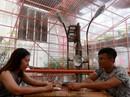 Độc lạ quán cà phê giàn giáo, khách tò mò ở TP HCM
