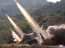 """Triều Tiên """"diễn tập tấn công tầm xa"""", bị Mỹ bắt giữ tàu hàng"""