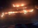 Xe khách giường nằm cháy kinh hoàng trên Quốc lộ 1