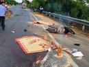 Xe tải tông xe máy, 2 người tử vong