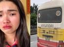 """Vụ xe buýt """"dù"""" giật tóc, đánh chảy máu mũi cô gái: Phạt vợ chồng chủ xe 5 triệu đồng"""
