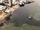 Ớn lạnh với nước thải đen ngòm đổ ra vịnh Nha Trang