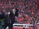 Nước Mỹ được nhắc nhiều khi ông Tập gặp lãnh đạo Kim Jong-un