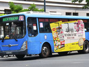 Giãn điều kiện để hút quảng cáo cho xe buýt
