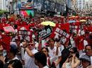 Hồng Kông: Biển người xuống đường phản đối dự luật dẫn độ