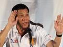 Ông Duterte thách Mỹ tuyên chiến với Trung Quốc trên biển Đông
