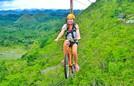 Đua xe đạp zipline mạo hiểm trên không ở Philippines
