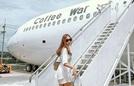 Mua nguyên chiếc máy bay để mở quán cà phê