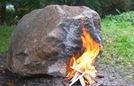 Tảng đá kỳ diệu, cứ đốt lửa là phát wifi