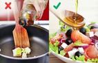 12 sai lầm khi nấu nướng nhiều người mắc phải