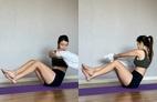 Dùng 1 chiếc khăn tắm, 'triển' ngay 4 động tác tập trong 2 tuần để thấy bụng phẳng, eo thon hơn