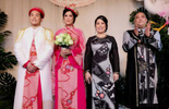 Sao Việt dự đám cưới con gái NSND Hồng Vân ở Sài Gòn
