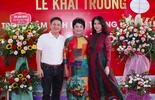 NSƯT Chí Trung tháp tùng bạn gái Ý Lan dự sự kiện