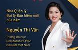 """Đại lý Manulife Việt Nam được vinh danh """"Nhà quản lý đại lý bảo hiểm mới của năm"""""""