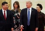 Xô xát vì cặp hạt nhân trong chuyến thăm Trung Quốc của ông Trump