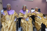 Bí quyết sống trên trăm tuổi của các cụ bà: Không lấy chồng