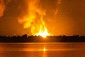 Mỹ: Hỏa hoạn dữ dội tại nhà máy chiết xuất gas