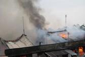 Vĩnh Long: Cháy lớn ở chợ Cái Nhum