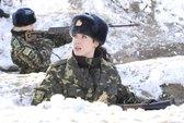Ukraine: Chiến binh nữ xung trận