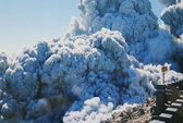 Núi lửa đe dọa Nhật Bản