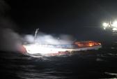 Hàn Quốc: Cháy tàu cá, 2 người Việt Nam mất tích