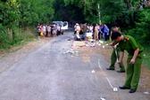 Truy lùng nhiều giờ tài xế gây tai nạn chết người bỏ trốn