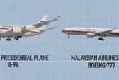 Vụ máy bay Malaysia rơi: MH17 bay cùng hành trình với tổng thống Nga
