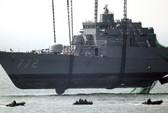 Tàu tuần tra Triều Tiên vượt biên