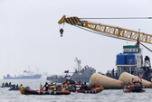 Vụ chìm tàu Hàn Quốc: Lời kêu cứu đầu tiên đến từ một bé trai
