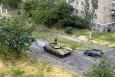 Ukraine tố xe tăng Nga xâm nhập vào phía Đông