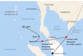 Máy bay MH370 đã bay đến khi hết nhiên liệu ?