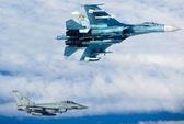 Anh xuất kích chiến đấu cơ Typhoon chặn 7 máy bay Nga