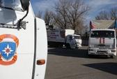 106 xe tải Nga đến miền Đông Ukraine