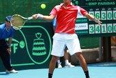Tranh vé vớt trụ hạng Davis Cup: Minh Quân mở màn thuận lợi