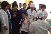 Phát động chiến dịch tiêm vắc-xin sởi - Rubella cho trẻ