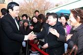 Chủ tịch nước Trương Tấn Sang đến Tokyo