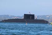 Tàu ngầm kilo Hà Nội hạ thủy