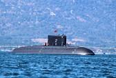 Nghiệm thu tàu ngầm Kilo Hà Nội