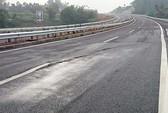 Đường cao tốc 1,5 tỉ USD bị nứt