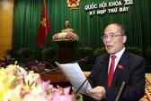 Quốc hội lên tiếng cứng rắn về biển Đông