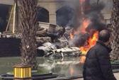 Trung Quốc: Chiến đấu cơ đâm vào chung cư, 7 người bị thương