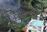 Cháy lớn trong khu đông dân