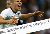 Tom Cleverley bị người hâm mộ đòi trục xuất khỏi tuyển Anh