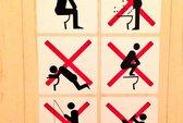 Sochi cấm câu cá... trong nhà vệ sinh