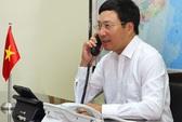 Vụ giàn khoan 981: Phó Thủ tướng điện đàm với Ngoại trưởng 3 nước